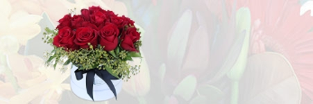 ROSES IN A HAT BOX