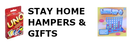 STAY AT HOME ISOLATION HAMPERS & GIFTS