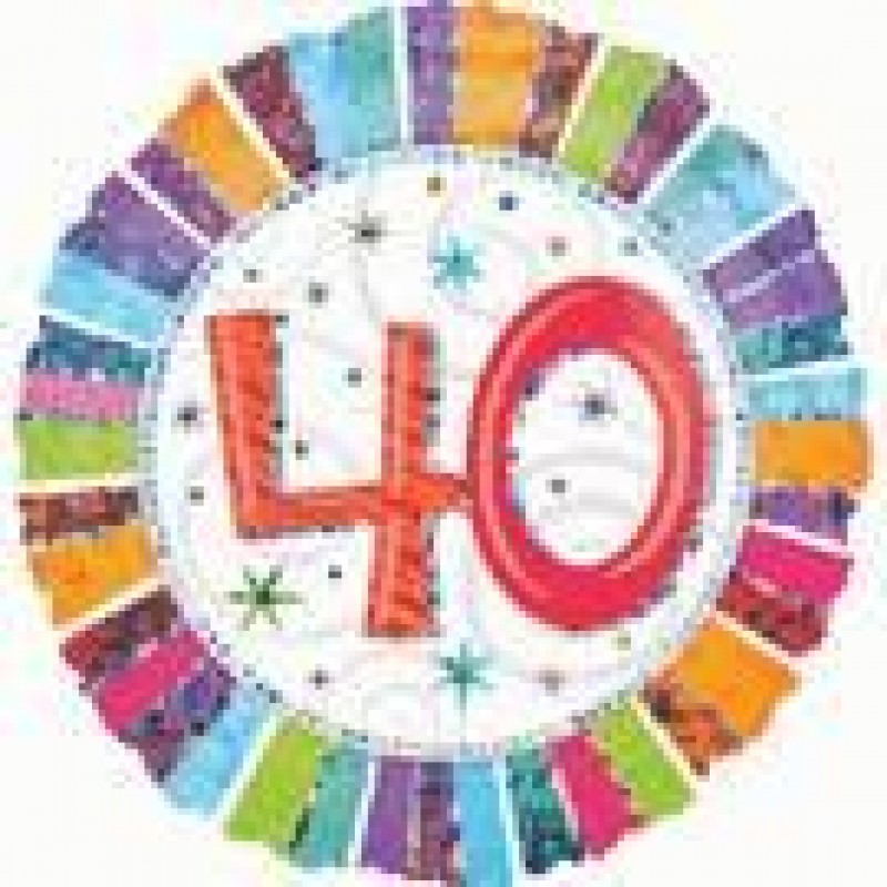 40th Birthday Balloons Perth