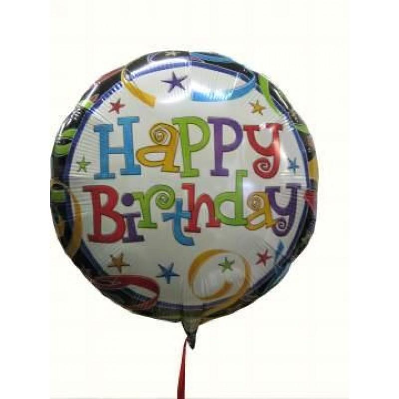 Happy Birthday Helium Balloon Perth