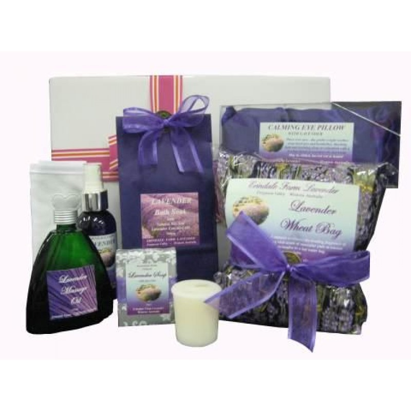 Baby Gift Hamper Perth : Lavender pamper hamper perth gift