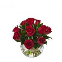Premium Rose Bowl Arrangement