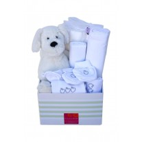 All in White Baby Hamper
