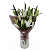 Awesome Oriental Lily Bouquet