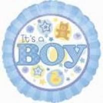 Baby Boy Helium Balloon - 45cm