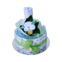 Baby Nappy Cake and Cupcake Bouquet