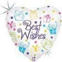 Best Wishes Helium Balloon