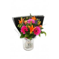 Bubbly & Bright Flower Bouquet