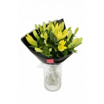 Bright Lilies Flower Bouquet