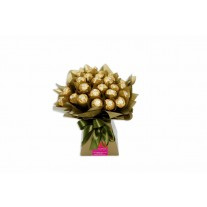 Chocolate Bouquet - Ferrero Rocher Gold
