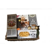 Chivas Regal & Nibbles Gift Basket