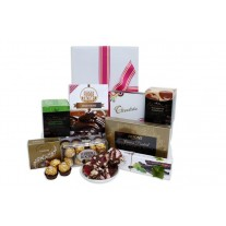 Chocoholics Chocolate Gift Basket