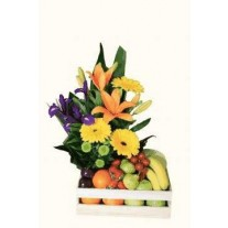 Flowers & Fruit Gift