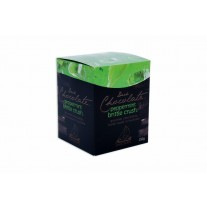 Fremantle Chocolate Dark Chocolate Peppermint Brittle Crunch 150g