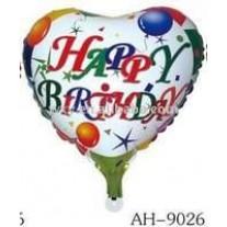 Happy Birthday Balloon - White Background