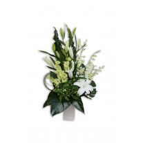 Elegant Upright Premium Flower Arrangement