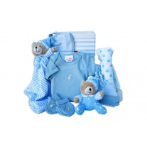 Little Treasures Baby Boy Hamper