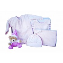 Newborn Bub Baby Clothing & Rattle Gift