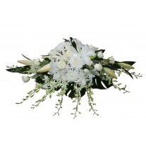 Pastel Flowers Funeral Spray