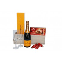 Two's Company Champagne Gift