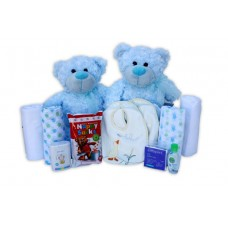Baby hampers perth childrens hampers perth perth newborn baby twice as nice twins baby hamper negle Images