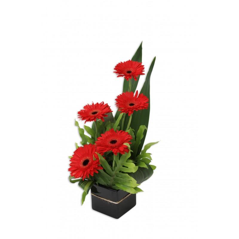 Gerbera-Jazz-Flower-Arrangement-Perth-2