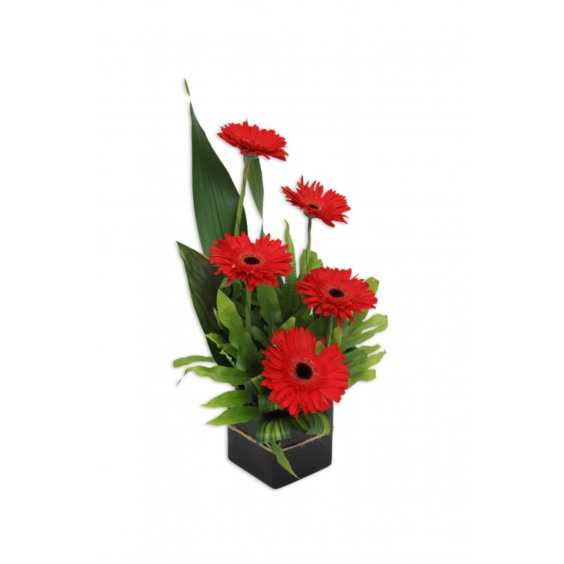Gerbera-Jazz-Flower-Arrangement-Perth-3