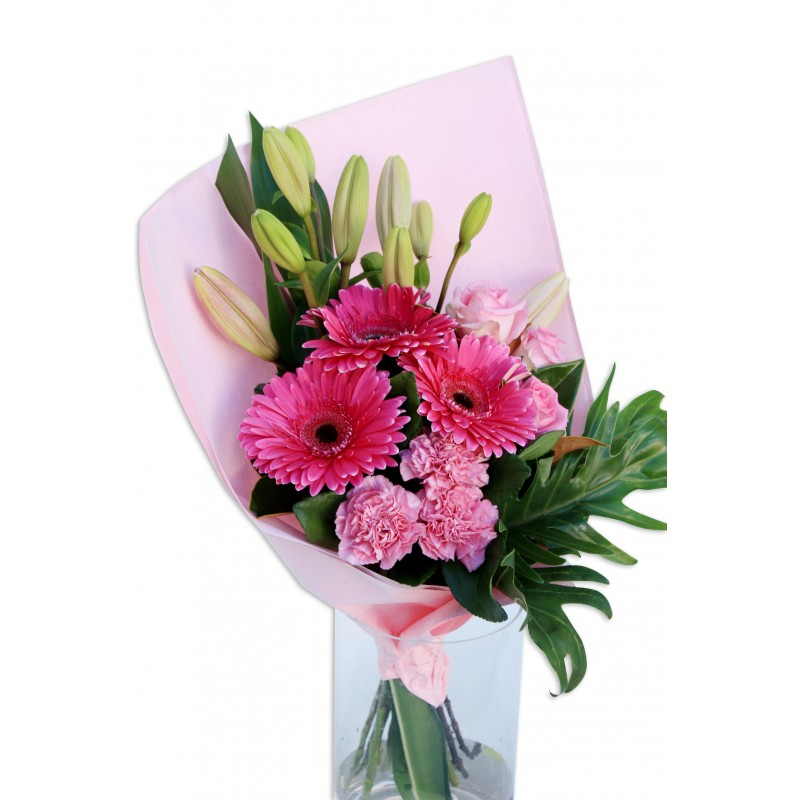 Pink Flower Bouquet Perth Pink Flowers Delivery Perth