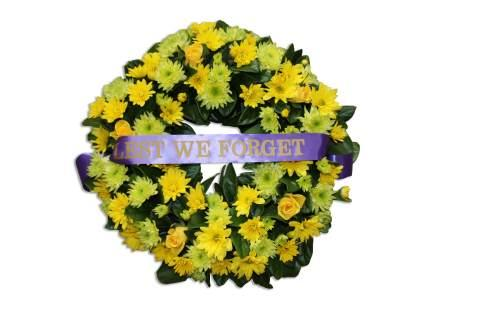 anzac day wreath perth western australia