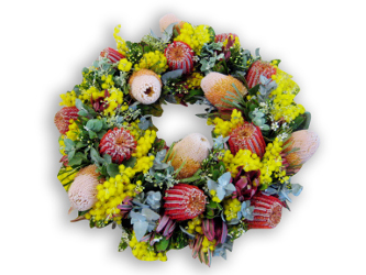 native anzac wreath perth